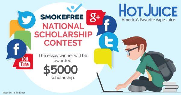 Image For Hot Juice —Smoke Free Merit $5,000 Scholarship Award Blog Post