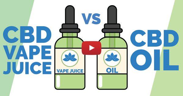 Image For CBD Vape Juice vs. CBD Oil — Which Is Better? Blog Post