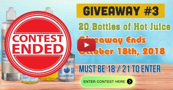 Image For 20 Bottles of Eliquid Giveaway! Blog Post