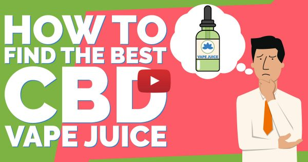 Image For Finding the Best CBD Vape Juice — What To Look For Blog Post
