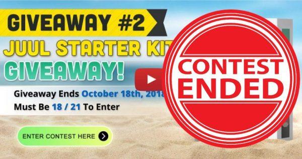 Image For Juul Starter Kit Giveaway! Blog Post