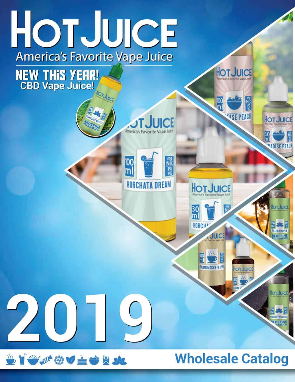 Hot Juice Wholesale Catalog 2019 Cover