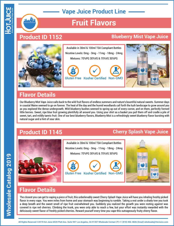 Hot Juice Wholesale Catalog 2019 Page 15