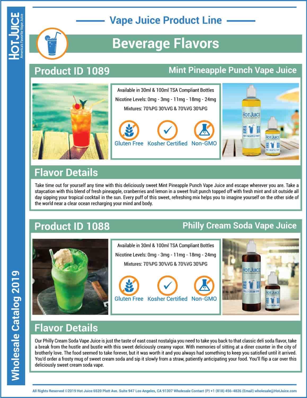 Hot Juice Wholesale Catalog 2019 Page 11
