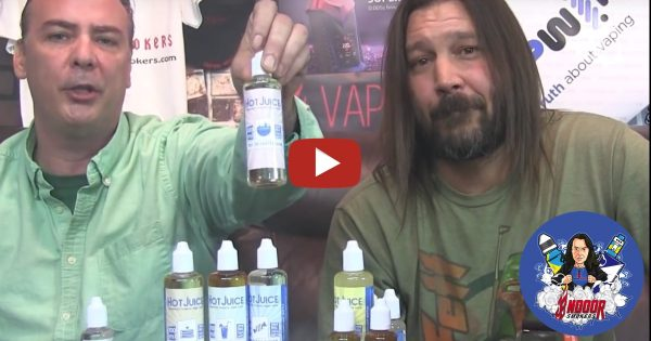 Image For Indoorsmokers — Hot Juice E Liquid Review Video Blog Post