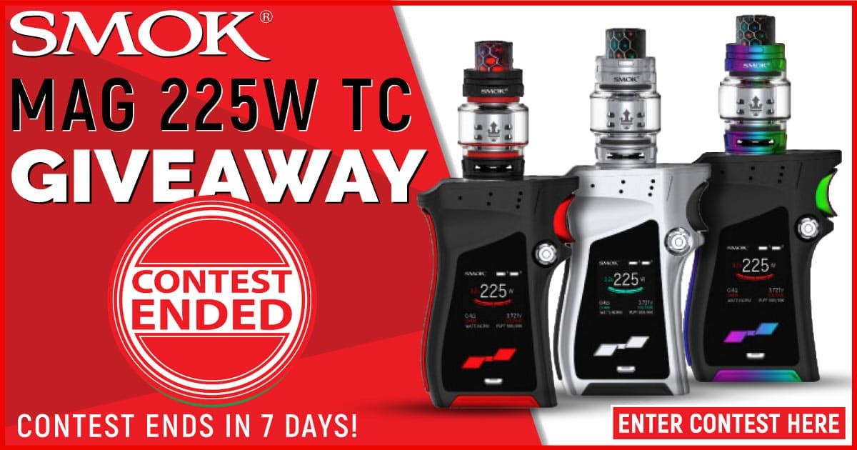 Smok Mag 225w TC Giveaway Ended