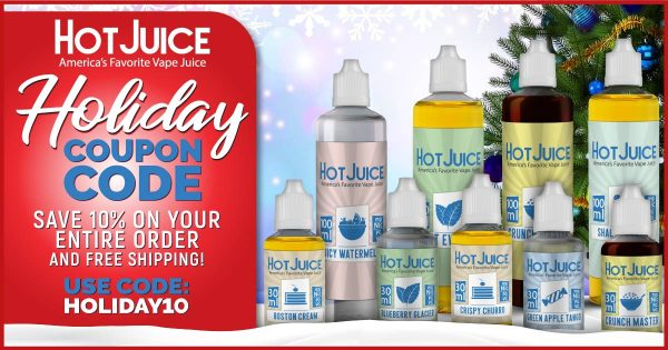 Image For Hot Juice Coupon Codes - December 2018 Blog Post